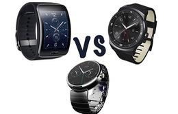"Apple Watch ""tranh tài"" cùng Samsung Gear S, Motorola Moto 360 và Pebble Steel"