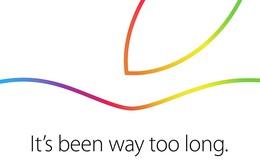 Apple gửi thư mời tham dự sự kiện ngày 16/10