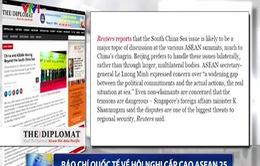 Báo chí quốc tế đánh giá cao sự đồng thuận của các nước ASEAN