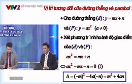 Bài giảng trực tuyến: Đường thẳng và parabol