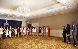 """Căng thẳng hành trình tìm kiếm top 18 """"Hoa khôi Áo dài Việt Nam 2014"""""""