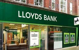 Lloyds Banking Group dự kiến sa thải 9.000 nhân sự