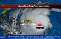 Siêu bão cấp 17 gần Biển Đông, không khí lạnh tăng cường