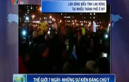 Làn sóng biểu tình lan rộng tại nhiều thành phố ở Mỹ