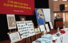 Bảo tàng Hồ Chí Minh tiếp nhận nhiều hiện vật quý