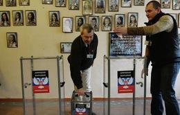 Phản ứng trái chiều về cuộc bầu cử ở miền Đông Ukraine