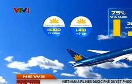Vietnam Airlines được phê duyệt phương án cổ phần hóa
