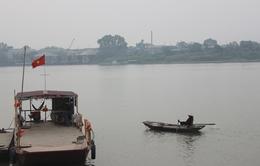 Va chạm trên sông Hồng, một tàuchìm, 2 người mất tích