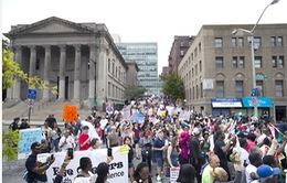 Mỹ: Các cuộc biểu tình chưa có dấu hiệu hạ nhiệt