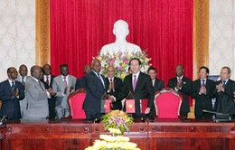 Việt Nam-Angola tăng cường hợp tác phòng chống tội phạm
