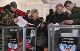 Phương Tây không công nhận kết quả bầu cử ở miền Đông Ukraine