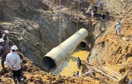 Hà Nội yêu cầu Vinaconex khẩn trương xây đường ống cấp nước sông Đà