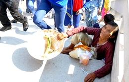 """TP.HCM kêu gọi """"không cho tiền người ăn xin"""""""