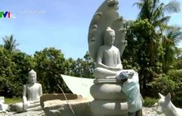 Nghề tạc đá - nét tinh hoa văn hóa Campuchia