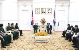 Tăng cường hợp tác giữa quân đội Việt Nam-Campuchia