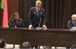 Tổng Bí thư gặp mặt hội viên Hội hữu nghị Belarus – Việt Nam