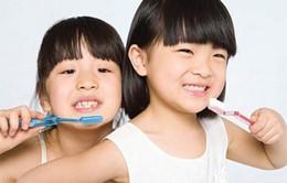 Chải răng đúng cách cho trẻ nhỏ