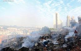 Hỏa hoạn lớn tại thành phố Sao Paulo của Brazil