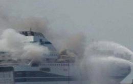 Hy Lạp: Giải cứu thành công hành khách trong vụ cháy phà