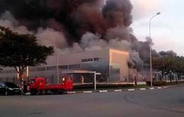 Bình Dương: Cháy lớn tại Công ty TNHH Sakata