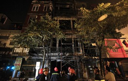 Cháy lớn 3 cơ sở kinh doanh tại Hà Nội