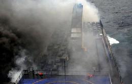 Cháy phà ở Hy Lạp: Đã có 10 người chết, 38 người vẫn mất tích