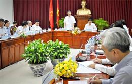 Tiểu ban Văn kiện Đại hội XII của Đảng làm việc tại Cần Thơ