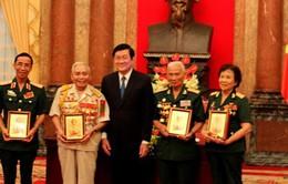 Chủ tịch nước gặp mặt cựu chiến binh, lực lượng tinh nhuệ 3 miền
