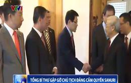 Tổng Bí thư Nguyễn Phú Trọng gặp Chủ tịch Đảng Sanuri