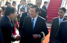 Chủ tịch nước Trương Tấn Sang thăm cấp Nhà nước Vương quốc Campuchia