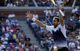 """Cilic bất ngờ """"lột xác"""" ở US Open sau án phạt nặng"""
