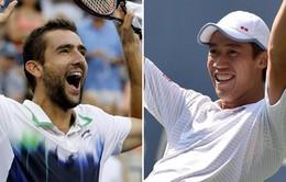 "US Open, Cilic - Nishikori: Vinh quang cho ""kẻ nổi loạn"""