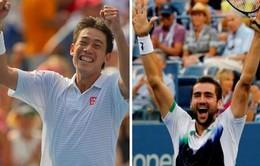US Open 2014: Trận chung kết lịch sử và lợi thế cho Kei Nishikori