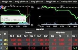Thị trường chao đảo, Vn-Index trượt xuống 518 điểm