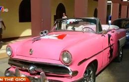 Du lịch Cuba tạo sức hút từ xe hơi cổ