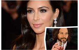 """Kim """"siêu vòng ba"""" là fan cuồng của Johnny Depp"""