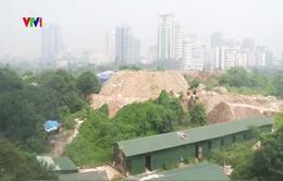 Công viên 40ha giữa Hà Nội biến thành… bãi đổ rác