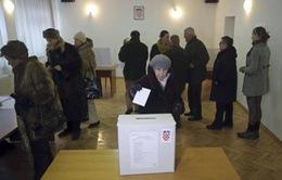 Croatia bầu cử Tổng thống