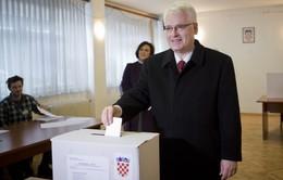 Croatia sẽ phải tổ chức bầu cử Tổng thống vòng 2