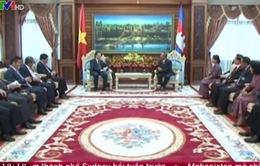 Chủ tịch nước Trương Tấn Sang gặp Chủ tịch Quốc hội Campuchia