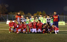 Hồng Sơn, Ngọc Châm hào hứng đưa cầu thủ tí hon sang Hàn Quốc thi đấu