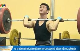 Cử tạ TP.HCM quyết tâm phá kỷ lục Đại hội TDTT Toàn quốc