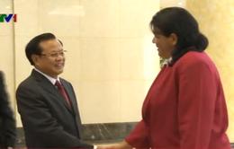 Đồng chí Phạm Quang Nghị hội đàm với Đoàn đại biểu cấp cao Đảng Cộng sản Cuba