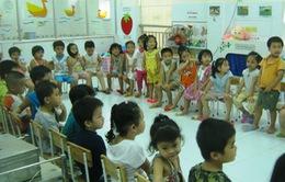 Bậc mầm non ở Vĩnh Phúc thiếu lớp học