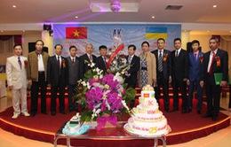 Kỷ niệm 25 năm đơn vị đóng tàu Việt Nam tại Kiev