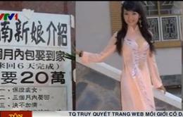 Trung Quốc truy quét trang web môi giới cô dâu Việt