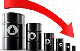 Giá dầu Brent phá đáy, xuống dưới 59 USD/thùng