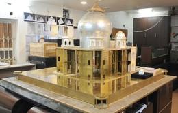 Phiên bản Taj Mahal bằng kim loại quý