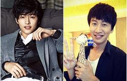 """""""Hươu cao cổ"""" Lee Kwang Soo từng rơi nước mắt khi bạn thân nhập ngũ"""