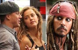 """Channing Tatum """"mê mệt"""" vị hôn thê của Johnny Depp?"""